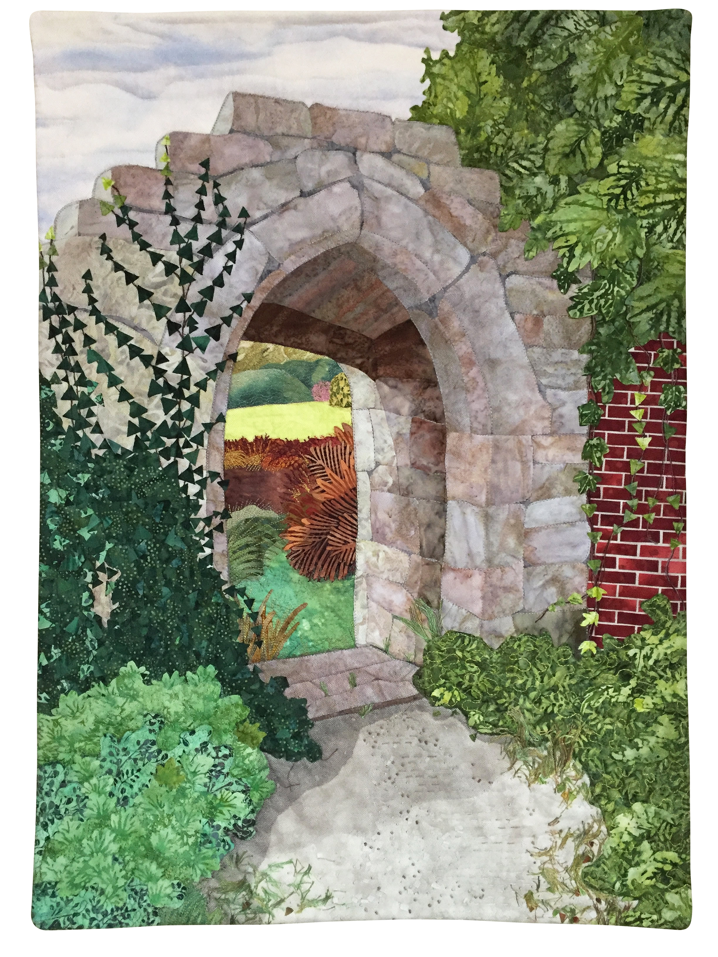Archway at Scotney Castle