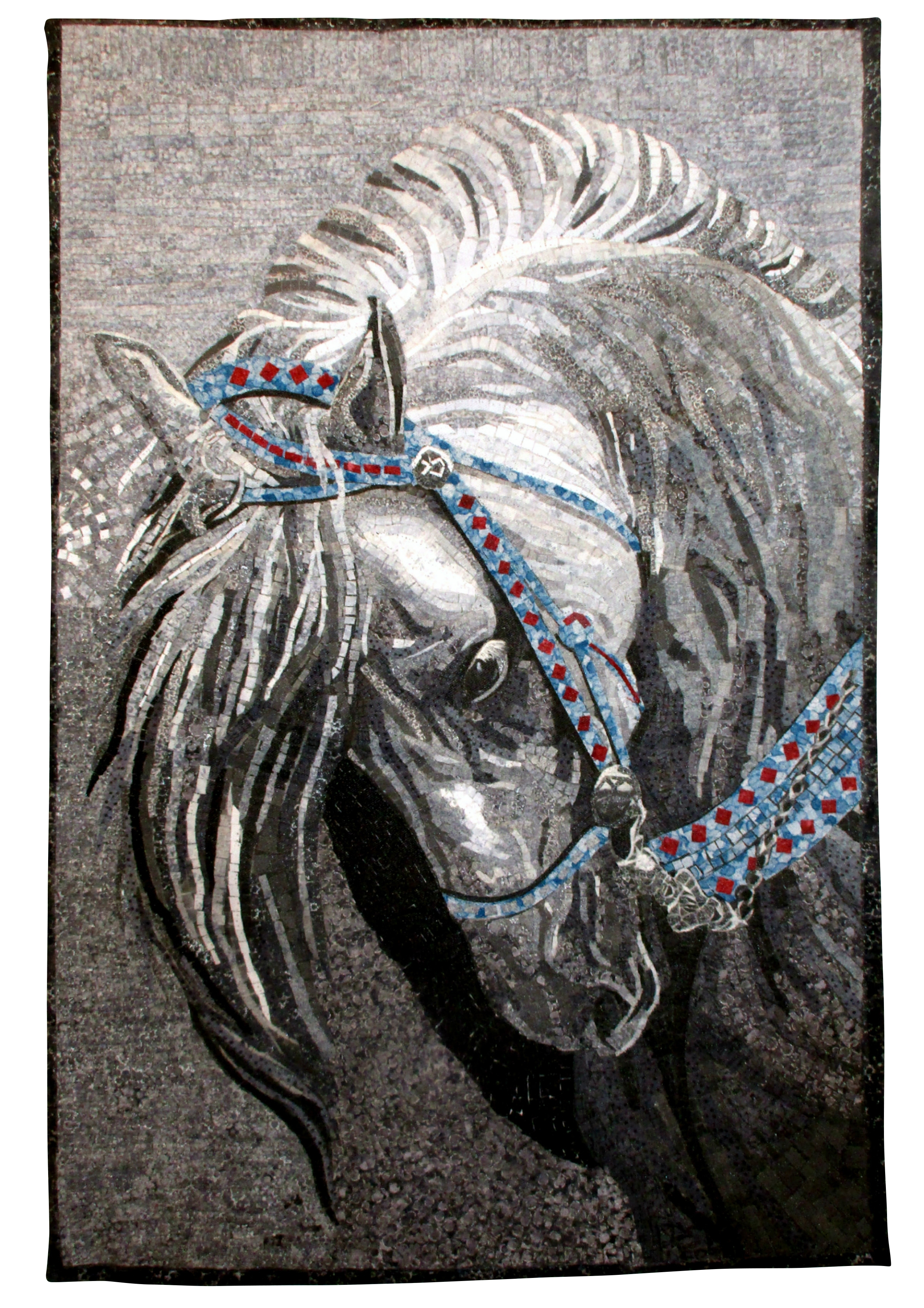 Andalusian in Grey Scale