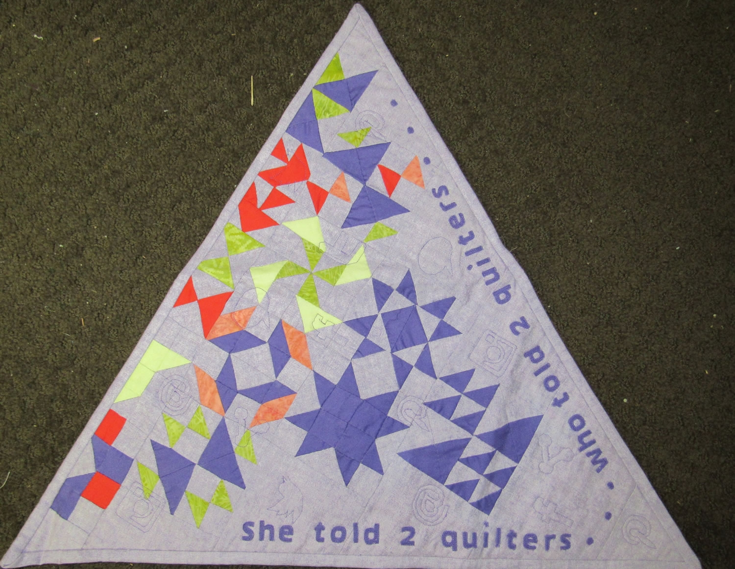 She Told 2 Quilters