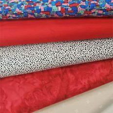 photo of fabrics for cqa/acc trendtex 2021 quilt challenge