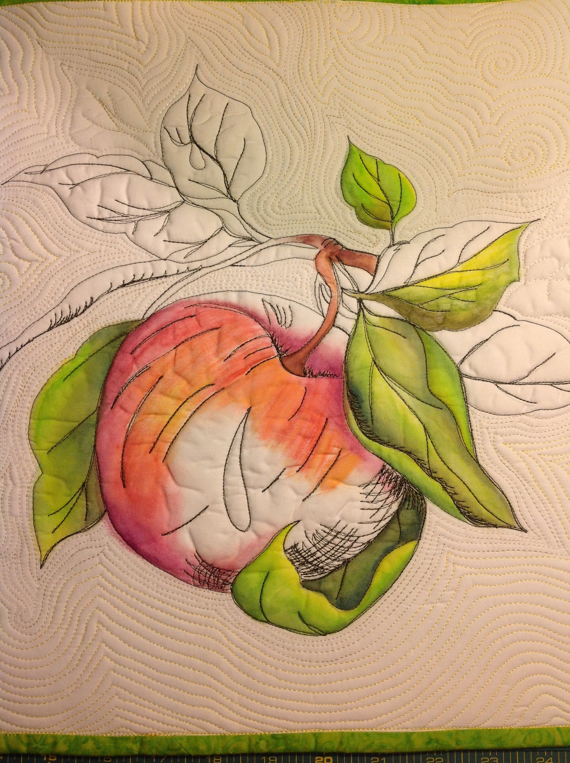 WAB.18pm - Sketch to Stitch with Inktense Pencils - WORKSHOP - FULL