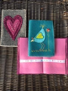 WSD.3,pm - DIY Wool Appliqué Needle Book - WORKSHOP