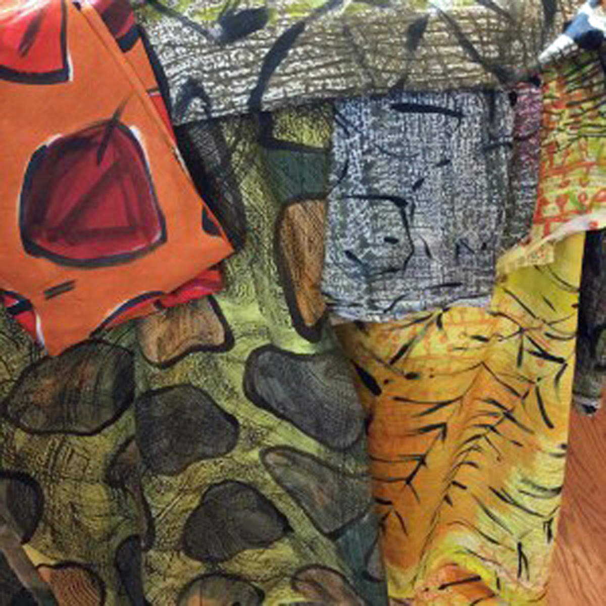 WBG.4,d - Transitions: An Artists Introduction to Dyeing and Painting Fabrics - WORKSHOP