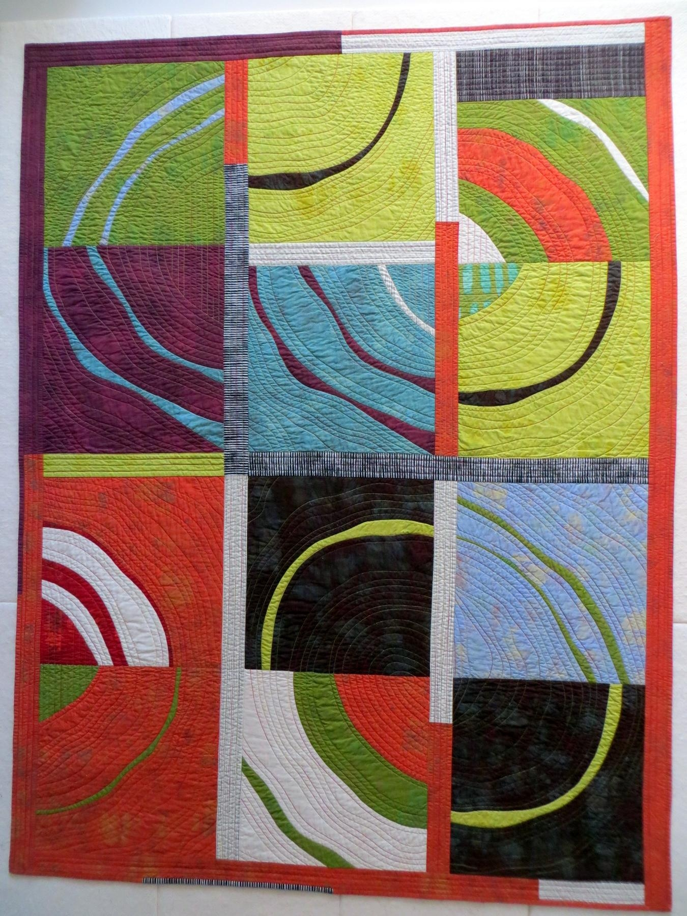 WMH.19d - Wonky Curved Piecing - WORKSHOP