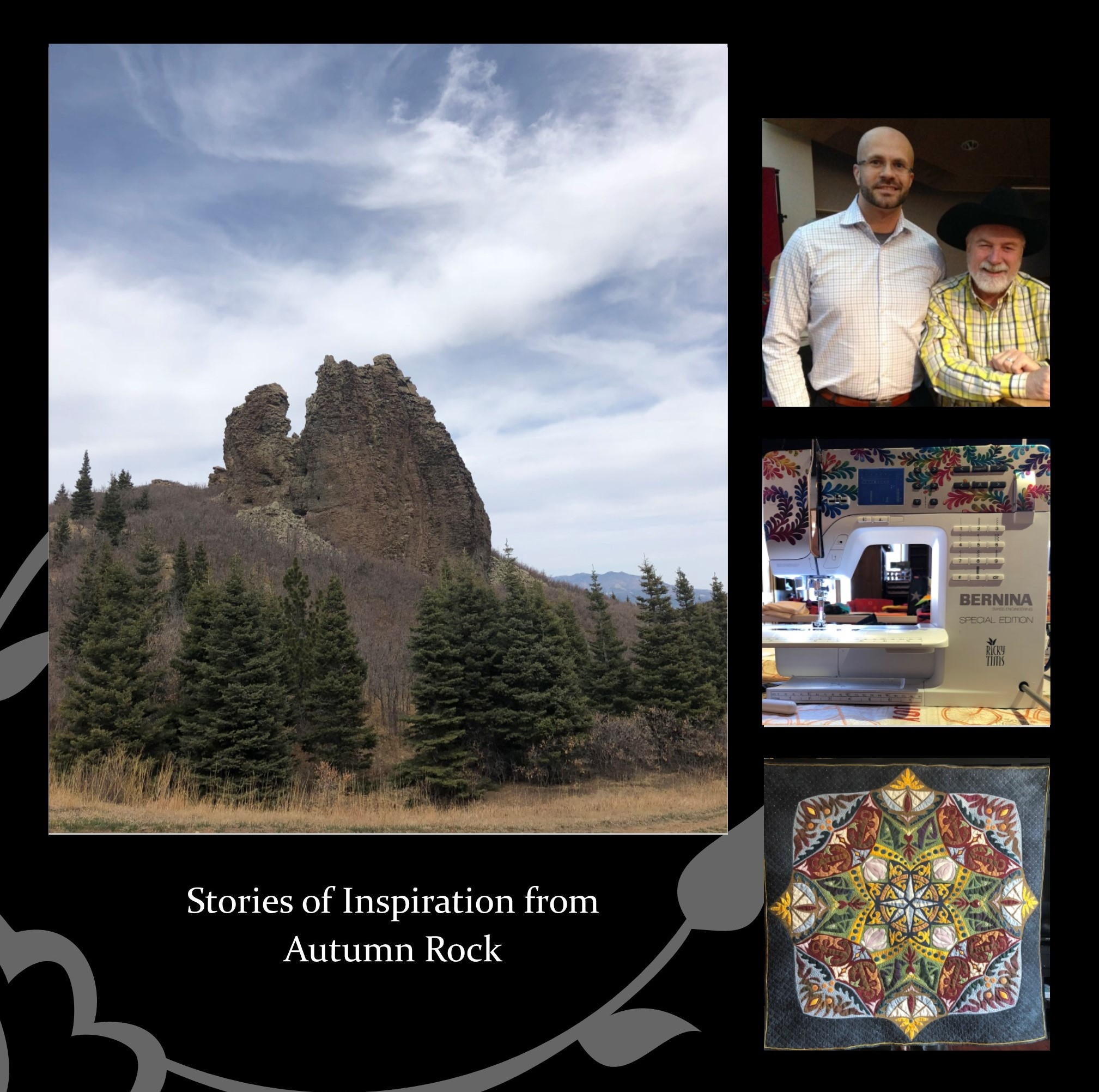 LCR.4,11am - Stories of Inspiration at Autumn Rock - DAYTIME LECTURE