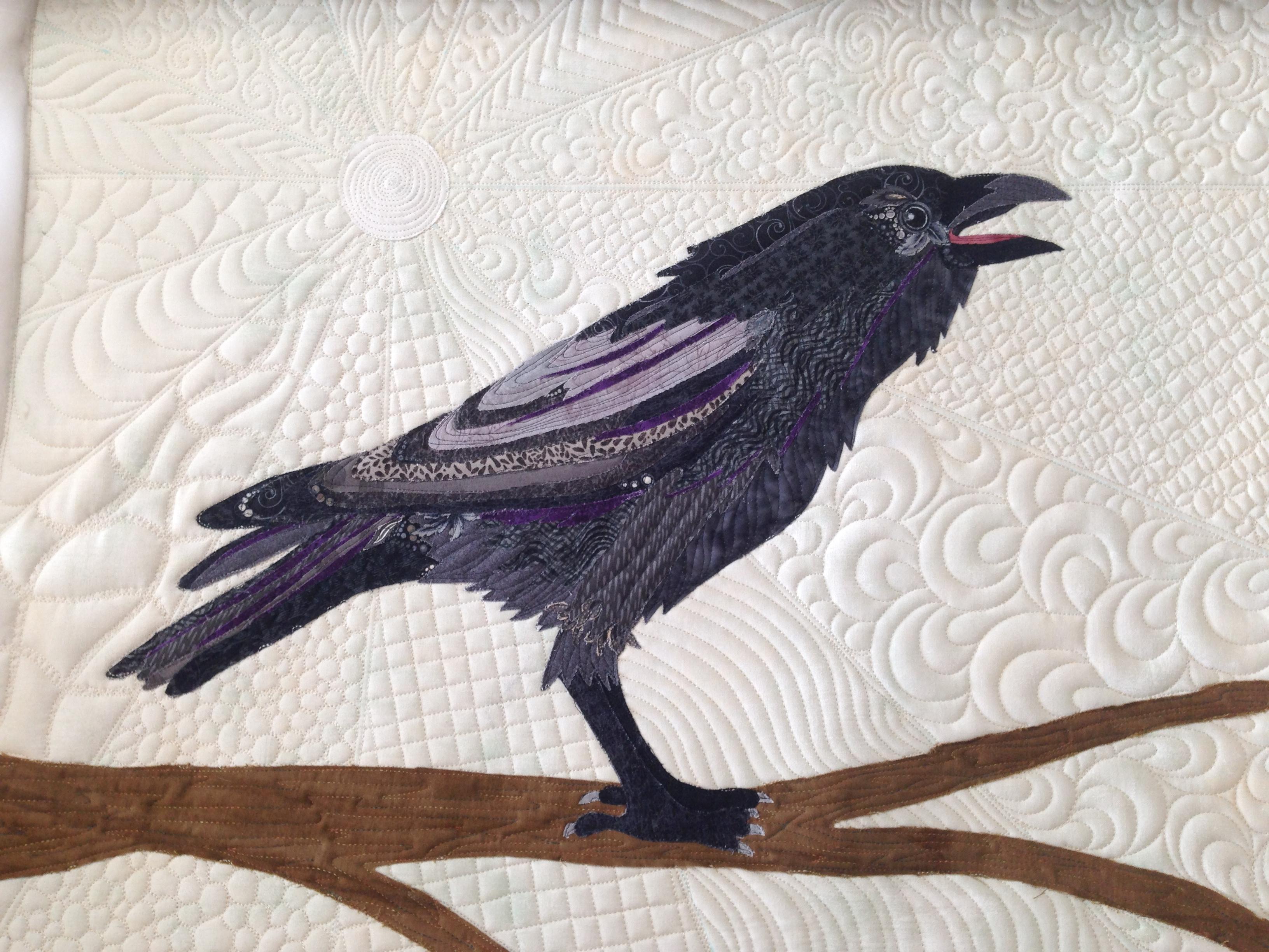 WTR.18d - Raven Beauty Collage - WORKSHOP