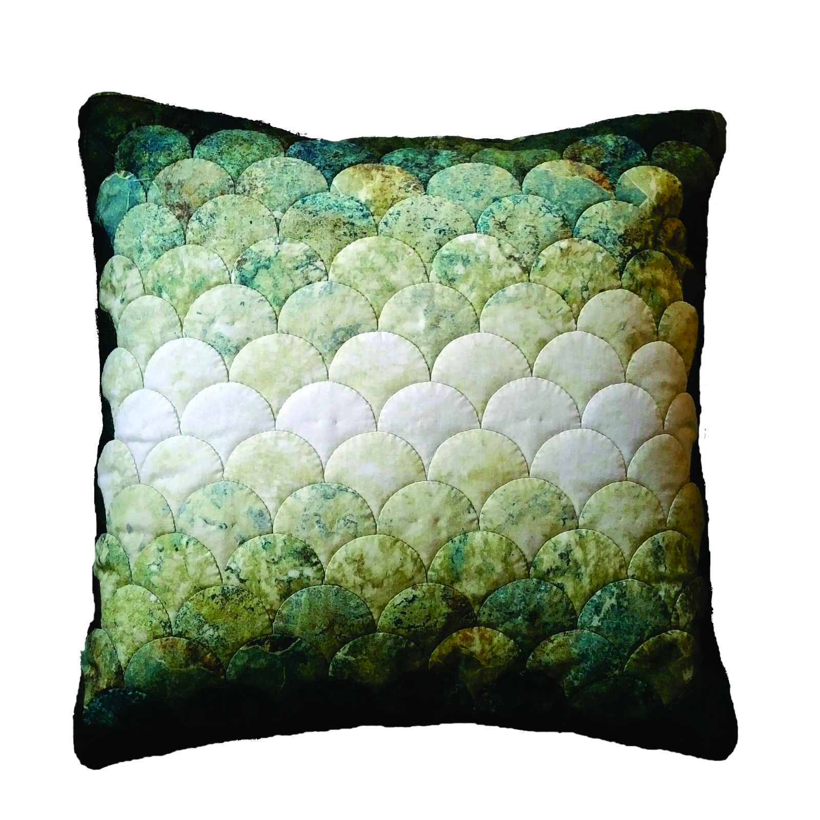 WKW.18d - Captivating Clamshell Cushion  - WORKSHOP