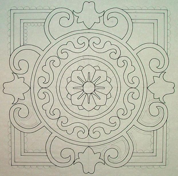 WLKW.4,pm - Traditional Appliqué Design - WORKSHOP/LECTURE