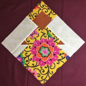 photo of an International Sisters quilt block