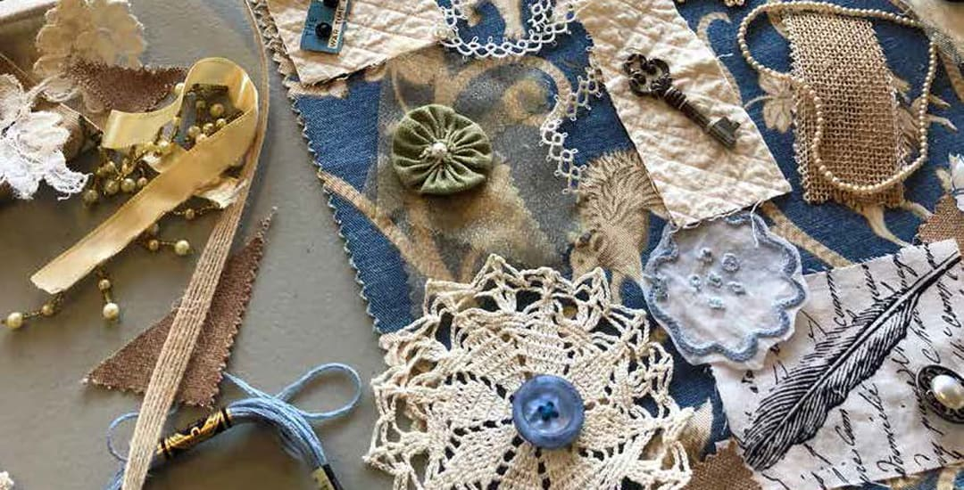 photo of lace doilies and embellishments