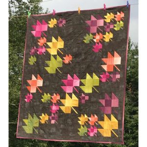 photo of Fall Breeze quilt by Joan Bowden