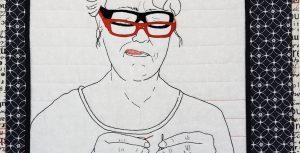 photo of Carole Gold's quilt entitled 2020uilt