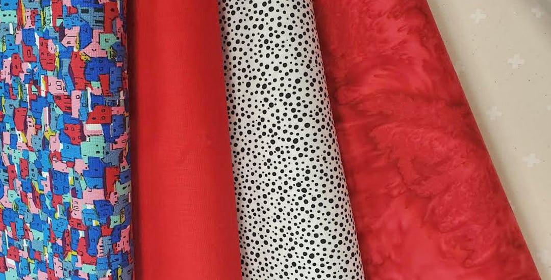 photo of the 2021 TrendTex Challenge fabrics