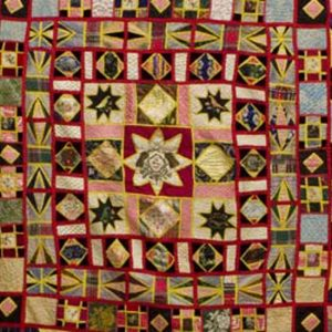 photo of the Rendell Quilt top