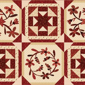 photo of Berries & Blossoms quilt