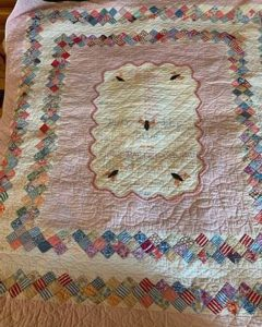 The Busy Bee quilt