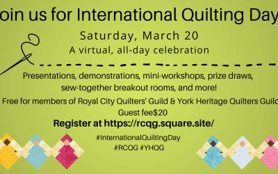 International Quilting Day