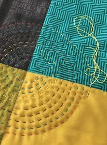 Big Stitch Hand Quilting – Making it Modern – Lorna Costantini @ CQA ZOOM Webinar